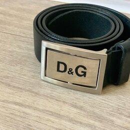 Ремни, пояса и подтяжки - Кожаный ремень D&G, 0