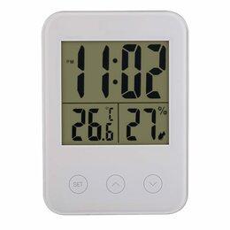 Метеостанции, термометры, барометры - Часы-метеостанция Perfeo Touch PF-S681, 0