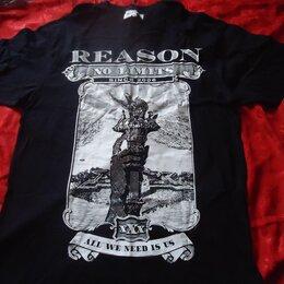 Футболки и майки - Футболка Reason XL  Оригинал из Америки , 0