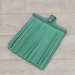 Садовые щетки и метлы - Метла полипропиленовая, синтетическая, мягкая, без черенка, для сбора мелкого..., 0