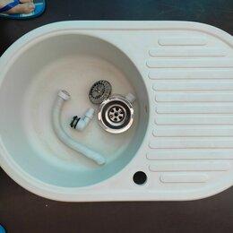 Кухонные мойки - Мойка для кухни из светлого камня, 0