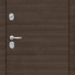 Входные двери - Дверь входная Porta S 4.П30 ЗАКАЗ Brownie/Cappuccino Veralinga, 0