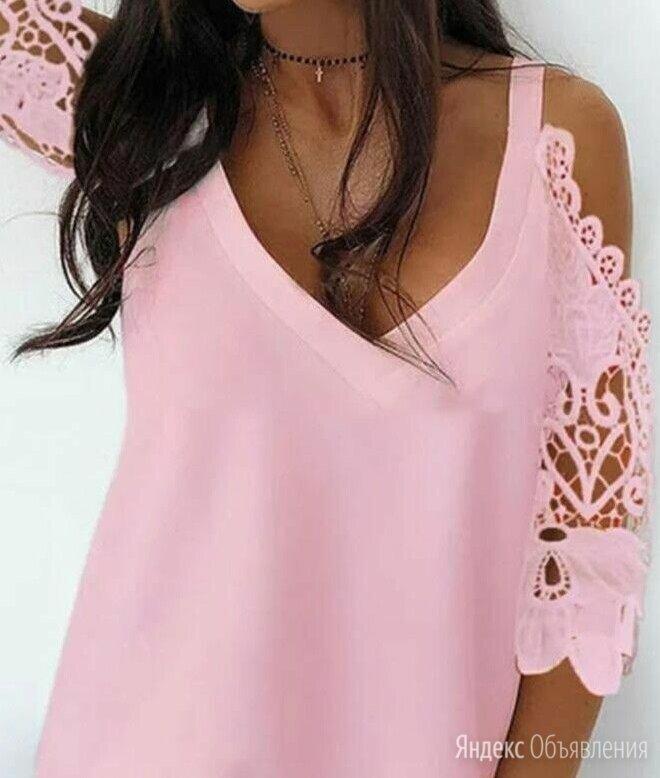 Красивые женские блузки с кружевом р-ры 46-56 по цене 1399₽ - Блузки и кофточки, фото 0