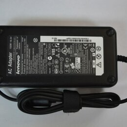 Аккумуляторы и зарядные устройства - Блок питания Lenovo прямоугольный разъем, 150W (19.5V, 7.7A) без сетевого кабеля, 0