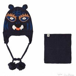 Головные уборы - Шапка с тигром и снуд Billybandit (5 размеров), 0