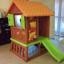 Игровые домики и палатки - Домик Винни Пуха с горкой Smoby, 0