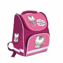 Рюкзаки, ранцы, сумки - Рюкзак  schoolFormat  Basic Ми-Ми Котик, 38*28*16см, 0
