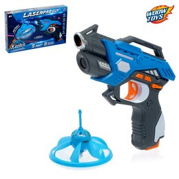 Игрушечное оружие и бластеры - Электронный тир LASERPRO GUN, №SL-02865, 0