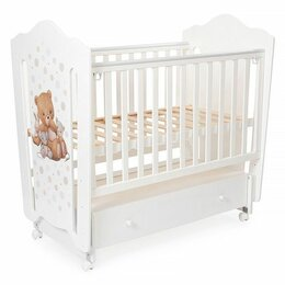 Кроватки - Детская кроватка Vikalex Мишкина Компания, 0