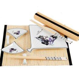 Принадлежности для суши - Набор для суши на 2 персоны 25*25*6 см, 0
