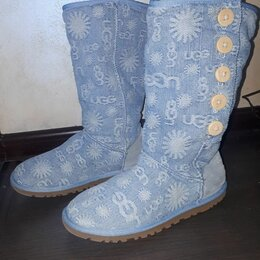 Угги - UGG australialo problue jean cotton denim, 0