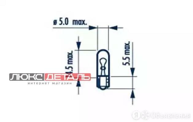 NARVA 17040 Лампа W1,2W 24V W2X4,6d  по цене 16₽ - Электрика и свет, фото 0