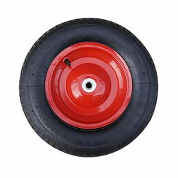 Обода и велосипедные колёса в сборе - Колесо запасное для тачки пневмо 3,25-8  ось 20мм Belamos, 0