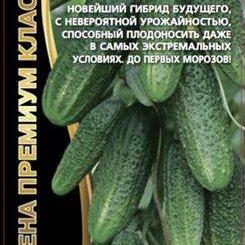 Семена - Огурец Сибирская Гирлянда F1 ЧСС, 0