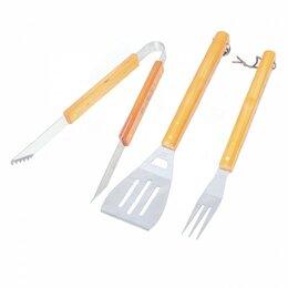 Наборы для пикника - Набор для барбекю Твой Пикник щипцы,лопатка,вилка, 0