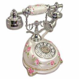 """Проводные телефоны - Телефон-ретро """"Цветы"""" 24*22*16 см., 0"""