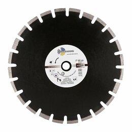 Диски отрезные - Алмазный сегментный диск Трио Диамант 400*10*25.4/12 Grand Asphalt GA774, 0