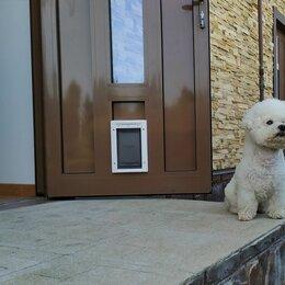 Прочие товары для животных - Утеплённые уличные дверцы для кошек и собак, 0