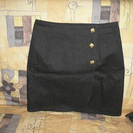 Юбки - Юбка- чёрная джинсовая, 0