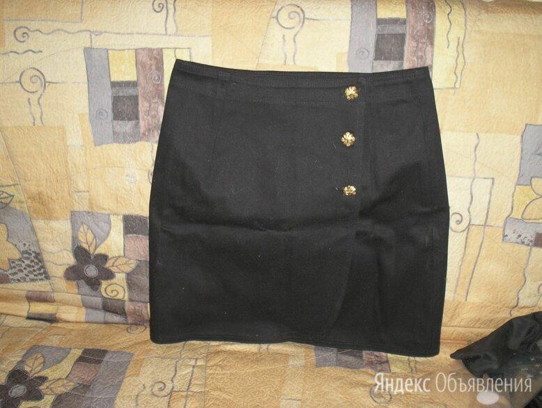 Юбка- чёрная джинсовая по цене 300₽ - Юбки, фото 0