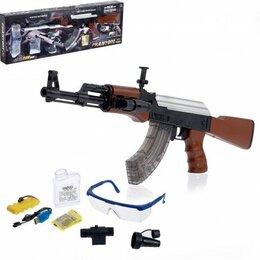 Игрушечное оружие и бластеры - Автомат с гелевыми пулями на аккумуляторе, 0