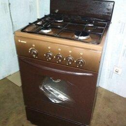 Плиты и варочные панели - Газовая плита гефест на 60 коричневая, 0