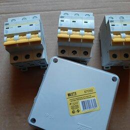 Электрические щиты и комплектующие - Автоматический выключатель иэк,разветкороба, 0
