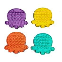 Игрушки-антистресс - Сенсорная игрушка - антистресс Залипательные пузырьки Осьминог, 0