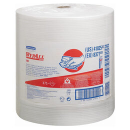 Бумажные салфетки, носовые платки - Протирочные салфетки Wypal X80 рулон 475 шт, 0