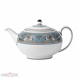 Заварочные чайники - Wedgwood Сервиз Бирюза Заварной чайник, 0