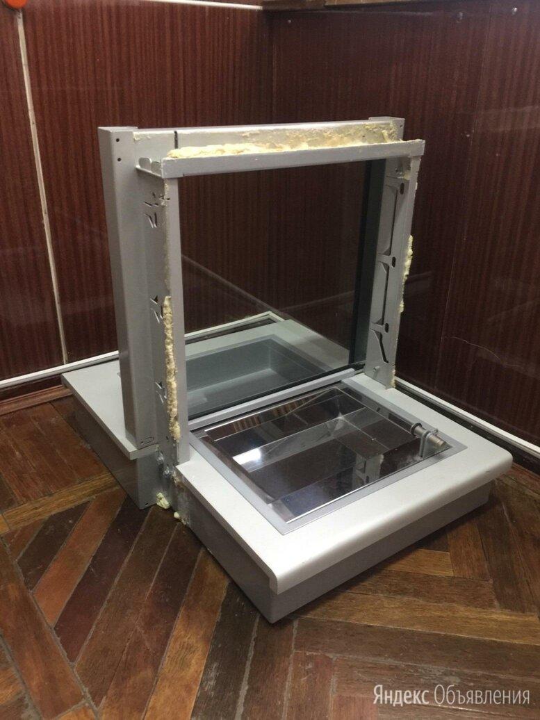 Бронированное стекло с лотком для касс по цене 500₽ - Стекла, фото 0