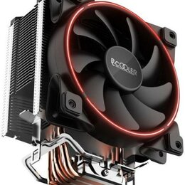 Кулеры и системы охлаждения - Кулер для процессора Pccooler X5R Красный новый , 0
