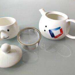 Заварочные чайники - Комплект из заварочного чайника и чашки, 0