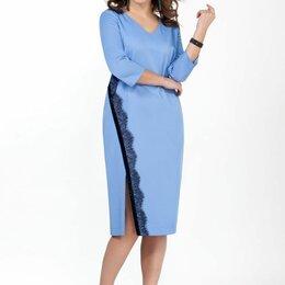 Платья - Платье 2066 TEZA голубое Модель: 2066, 0