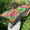 Платок женский натуральный шелк Пионы СССР по цене 1000₽ - Шарфы, платки и воротники, фото 5