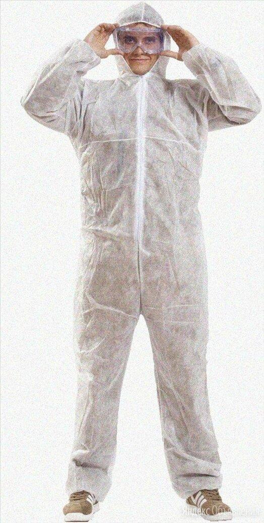 Комбинезон защитный одноразовый медицинский по цене 102₽ - Устройства, приборы и аксессуары для здоровья, фото 0