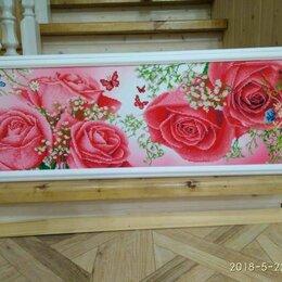 Картины, постеры, гобелены, панно - Алмазная вышивка розы , 0