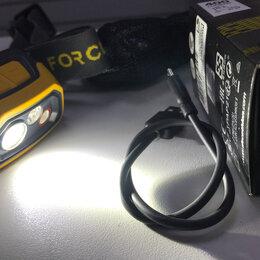 Фонари - Фонарь налобный для трекинга Trek 900 USB 8640234, 0