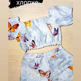Домашняя одежда - Комплект пижамы ручной работы , 0