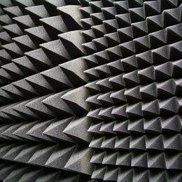 Оборудование для звукозаписывающих студий - Акустический поролон пирамида, 0