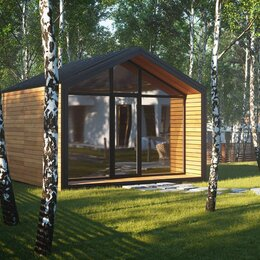 """Готовые строения - Дачный домик """"Garden House 18"""", 0"""