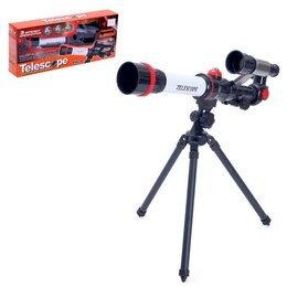 Детские микроскопы и телескопы - Игрушка детская телескоп «Юный астроном», 0