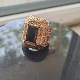Кольца и перстни - Печатка перстень новая золотая, 0