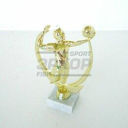 Дизайн, изготовление и реставрация товаров - Фигура Лидер пластиковая золото разм 15,5 см волейбол, 0