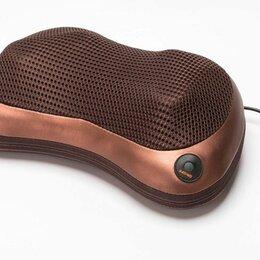 Массажные матрасы и подушки - Массажная подушка с подогревом для шеи и спины, 0
