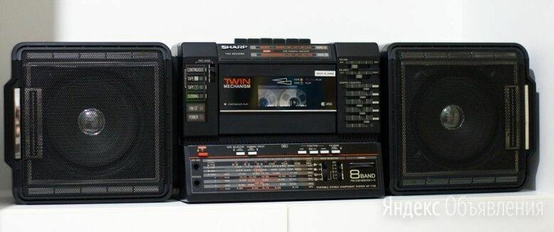 Магнитола Sharp WF-T738 TWIN по цене 15000₽ - Музыкальные центры,  магнитофоны, магнитолы, фото 0