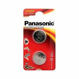 Батарейки - Элемент питания Panasonic CR2025 BL2, 0