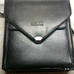 Портфели - Планшет-портфель б/у черный Lucci Prestige, ф.А4, 0