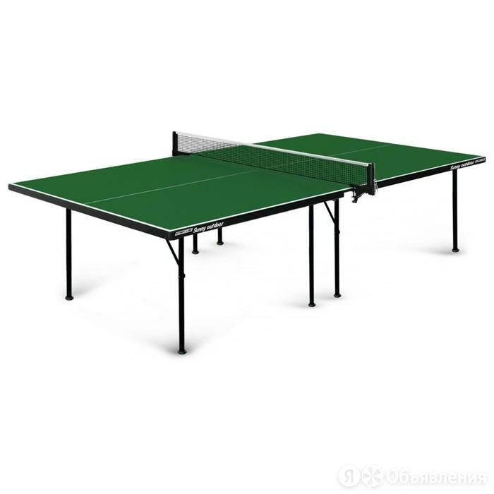 Теннисный стол Sunny Outdoor green по цене 37499₽ - Столы, фото 0