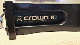Усилители и ресиверы - Усилитель мощности crown k2, 0